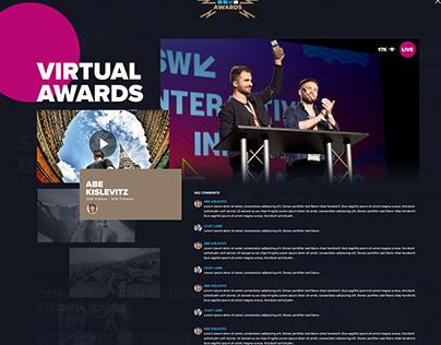 Go Pro Virtual Awards & New Homepage