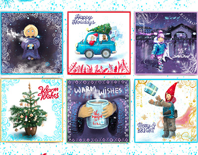 Christmas/ new year cards