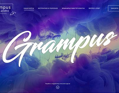 Landing page Grampus