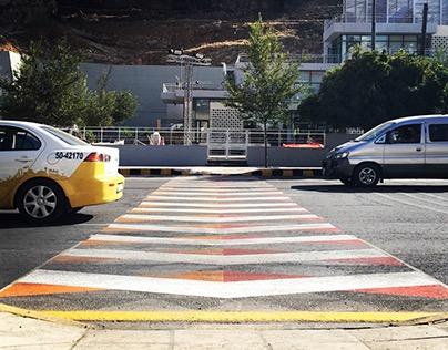 Pedestrian Crossing - Amman