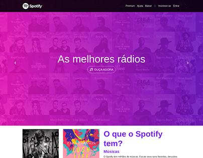 Projeto Clone Spotify