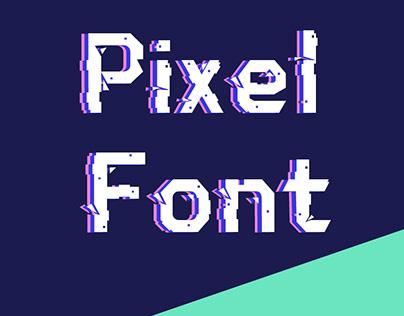 pixel font design