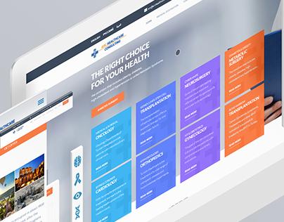 ARC Health Consulting - Web Design