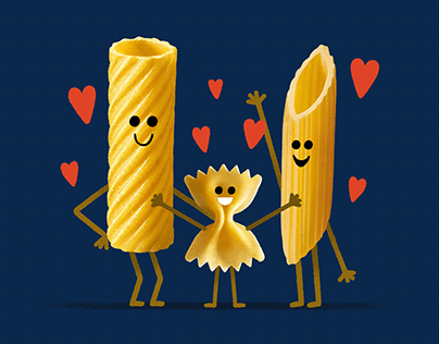 Illustrations for Barilla