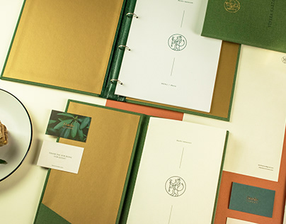 Leon Coronato & Đardin visual identity