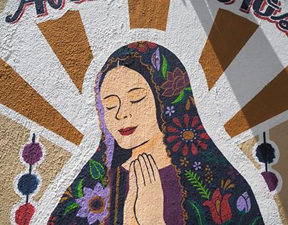 Mural in San Cristobal de Las Casas