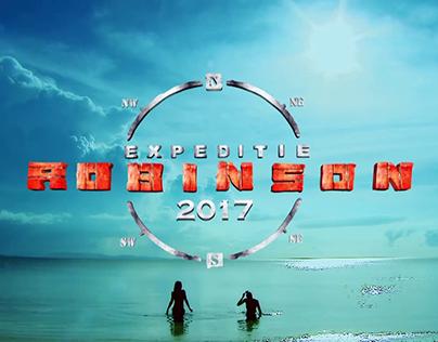 Expeditie Robinson (2015 - 2017) - Logo animation HD