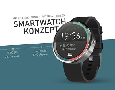 Smartwatch Concept & UI Design