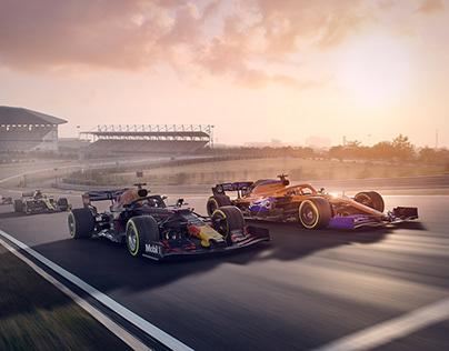 F1 Indian Grand Prix - Reimagined