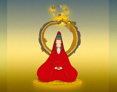 Guan Yin-The Buddha's Helper