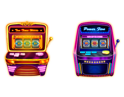Preview and interface for slot machines