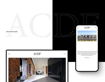 2018 | ACDF Architecture