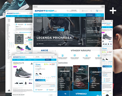 SportShop | Webdesign & Logo