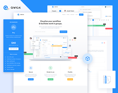 Qwick - collaborative work platform