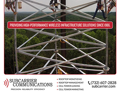 Ad for wireless infrastructure - DESIGN & COPYWRITING