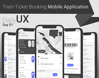 TRAM TICKET BOOKING MOBILE APPLICATION