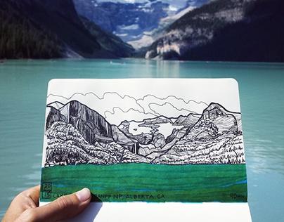 Travel Sketching 2015