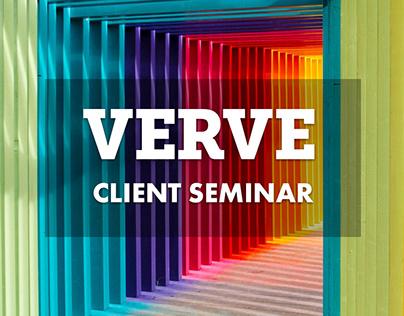 Verve Client Seminar