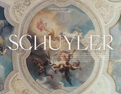 Schuyler Font (Hamilton Inspired)