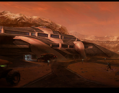 Mars Military Base