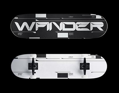 Wander Skateboard Design