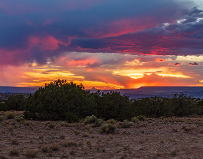Desert Light Show
