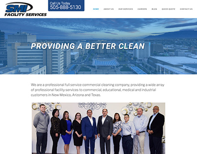Web Design and SEO for SMI Facility Services