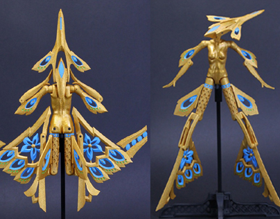 T040501 Fast Mercy (Gold/Blue)