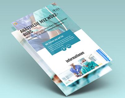 Webdesign – Medizinische Versorgungszentrum Würzburg