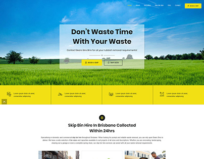 Don't Waste Time with Your Wastes
