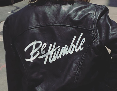 Be Humble Leather Jacket