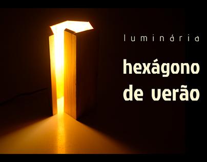 Industrial Design | Hexagon Lamp