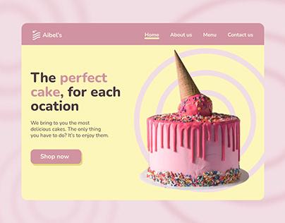 Aibel's landing page