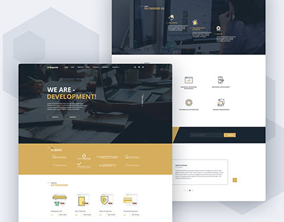 Mageside - Responsive website