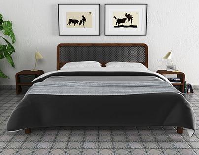 Malaga bedroom set