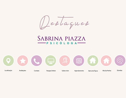Estruturação de perfil - Psicóloga Sabrina Piazza