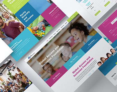 Global Access & Inclusion Foundation | Website Redesign