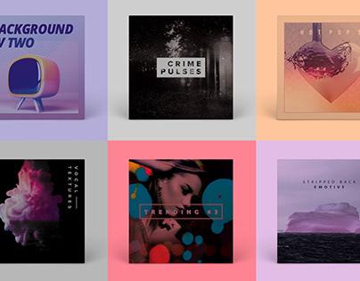 Album cover collection (2019-2021)