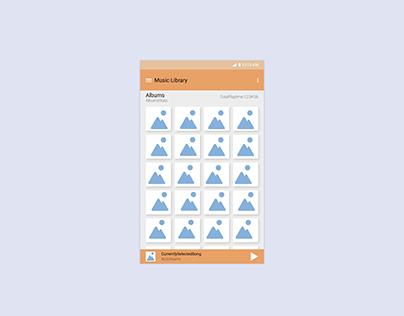 Generic Music Player App