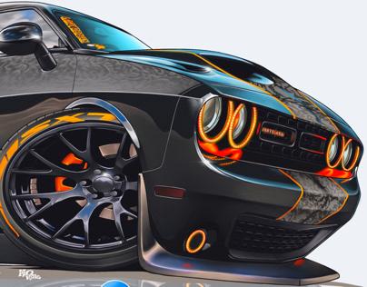 Dodge Car Artworks Collection 2020