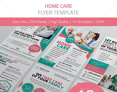 Home Care Flyer Pack
