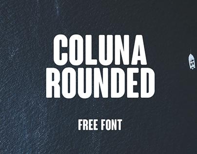 Coluna Rounded - Free Font