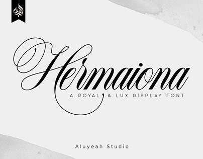 Hermaiona | Free Royal Font