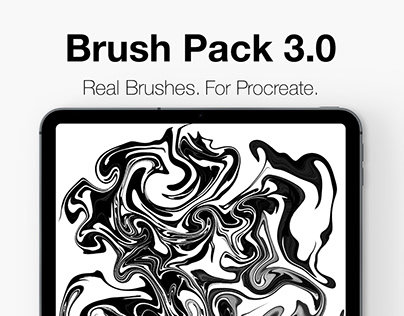 Procreate Lettering Brush Pack 3.0