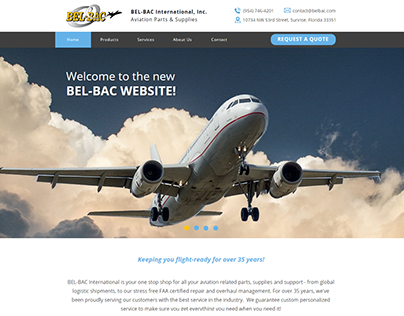 BEL-BAC International, Inc. New Website 2018