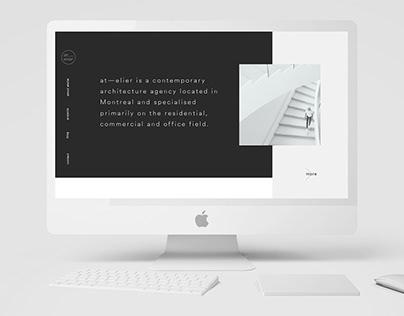 Atelier web design