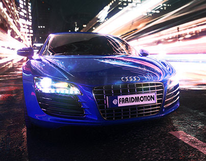 Audi Cinema4d and Redshift