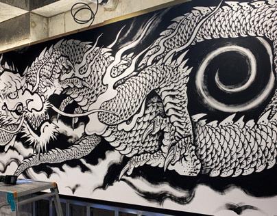 Akasaka Dragon God 6m×2m