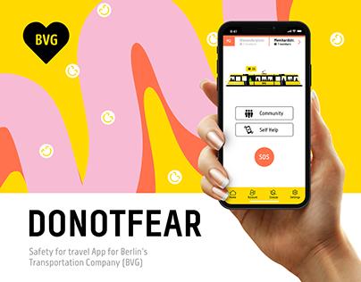 BVG - Berlin Transport Safety App