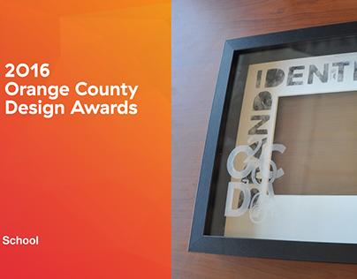 WINNER of OC Design Awards 2016